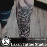 Rose Tattoo by Mahesh Ogania