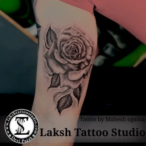 Best Rose Tattoo by Mahesh Ogania